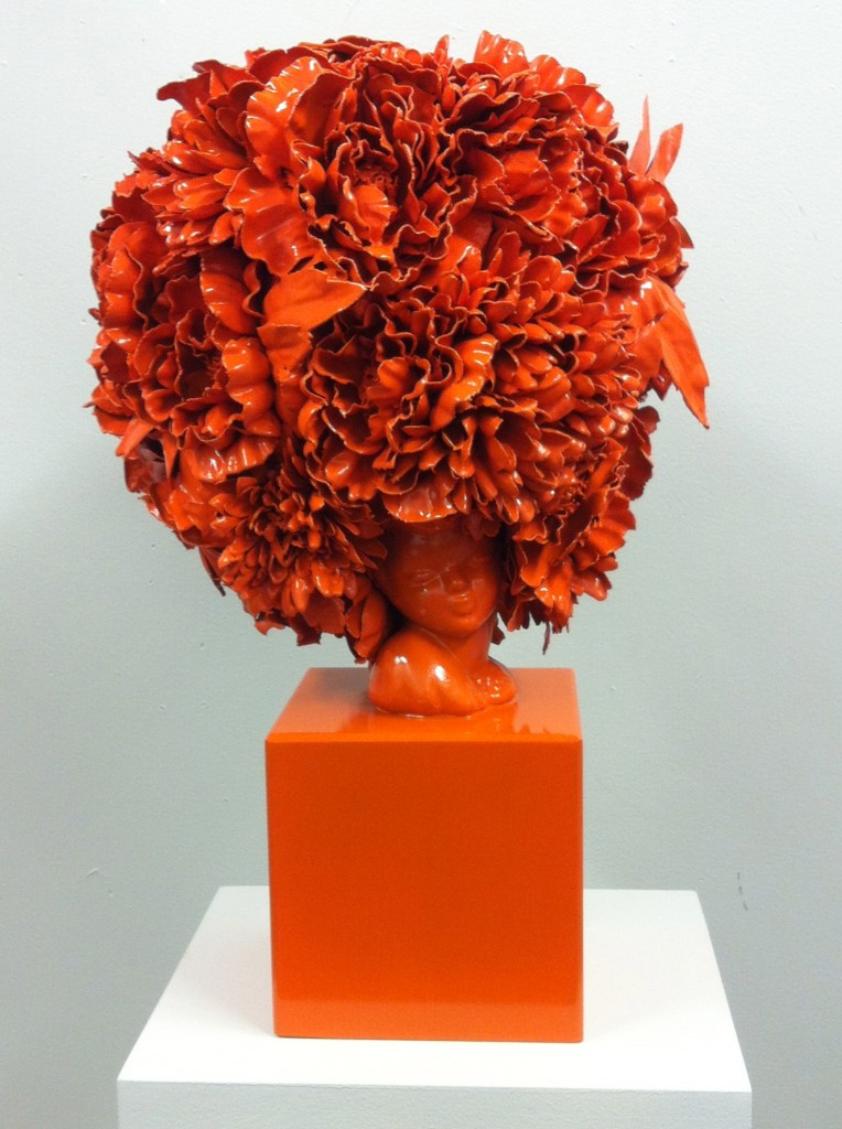 Cherished Tchotchke Knows Her Place (orange), 2013