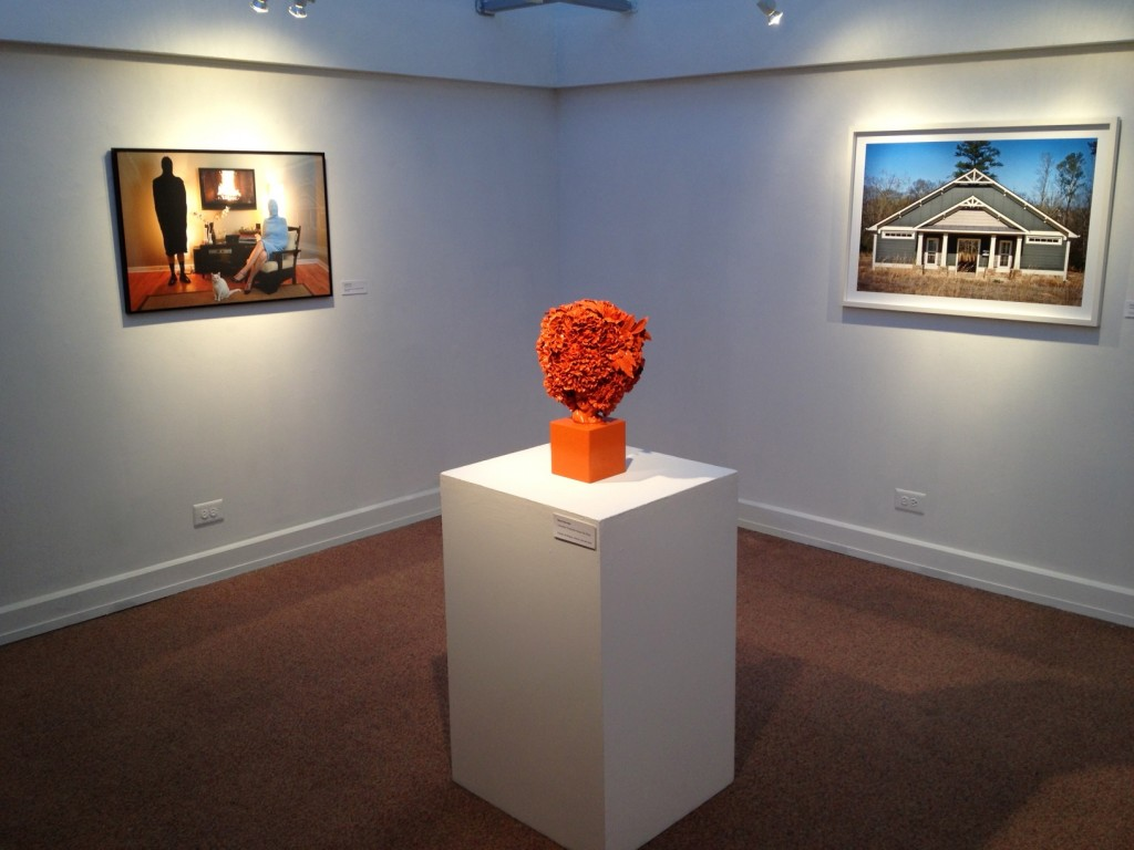 Cherished Tchotchke Knows Her Place (orange), 2013 at Dalton Gallery